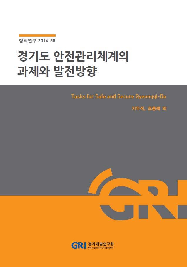 경기도 안전관리체계의 과제와 발전방향