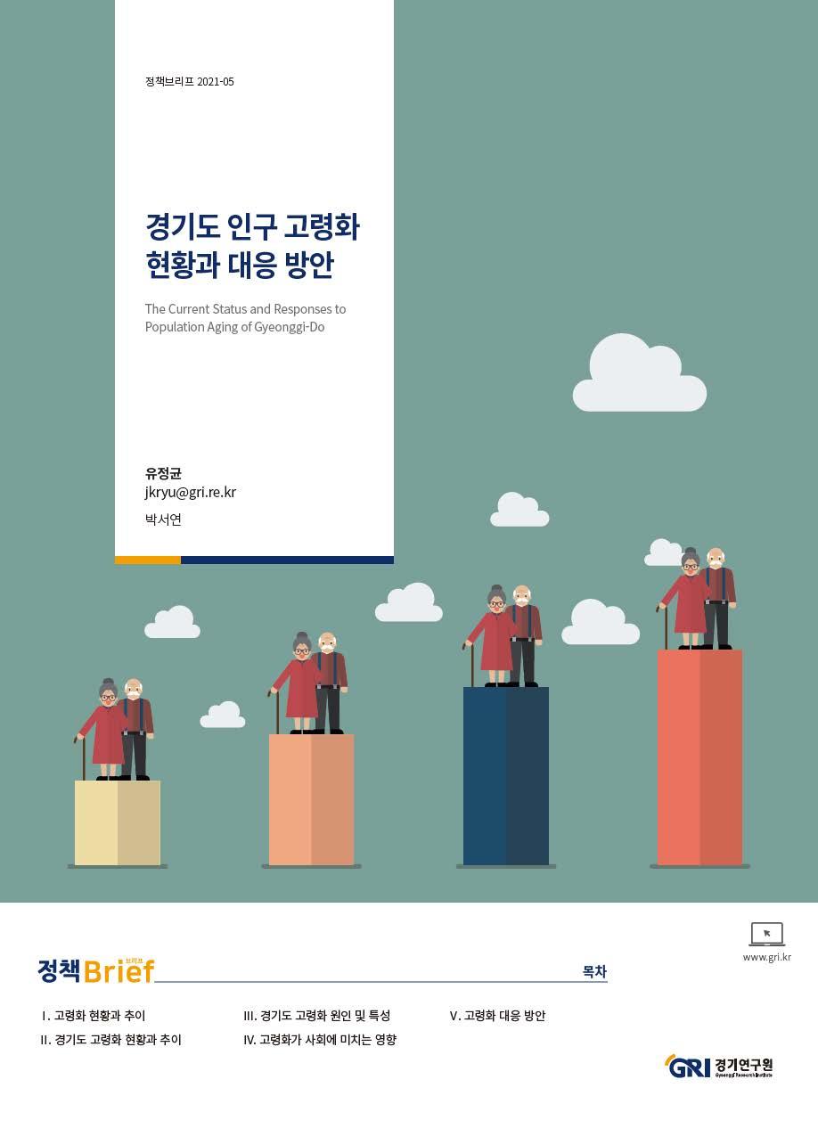 경기도 인구 고령화 현황과 대응 방안