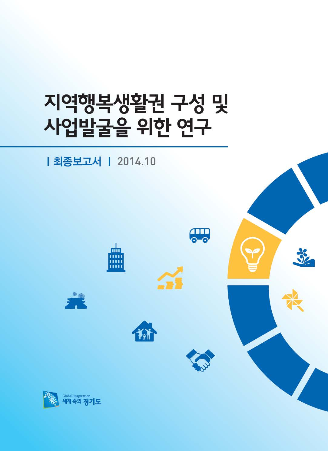 지역행복생활권 구성 및 사업발굴을 위한 연구