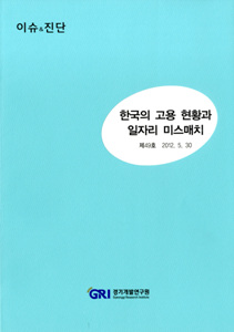 한국의 고용현황과 일자리 미스매치
