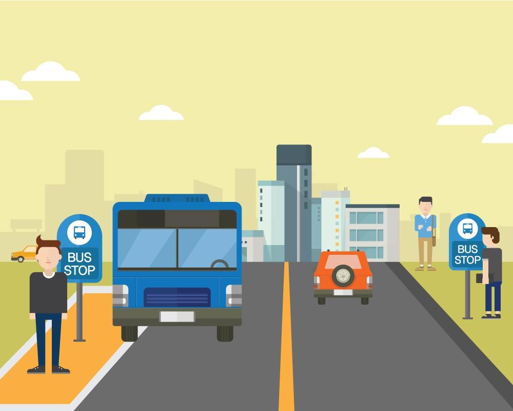 누구를 위한 버스베이인가?  버스가 이용하지 않는 버스베이